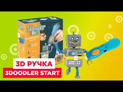Обзор 3D ручки 3Doodler Start | Творчество и фантазия