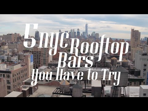 Awesome Rooftop Bars in NYC