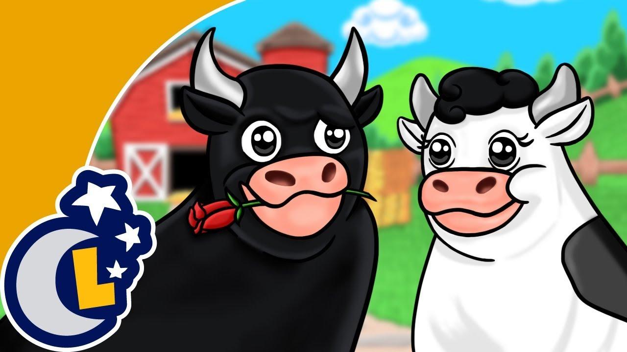 Señora Vaca y Señor Toro. Canciones Infantiles. Lunacreciente