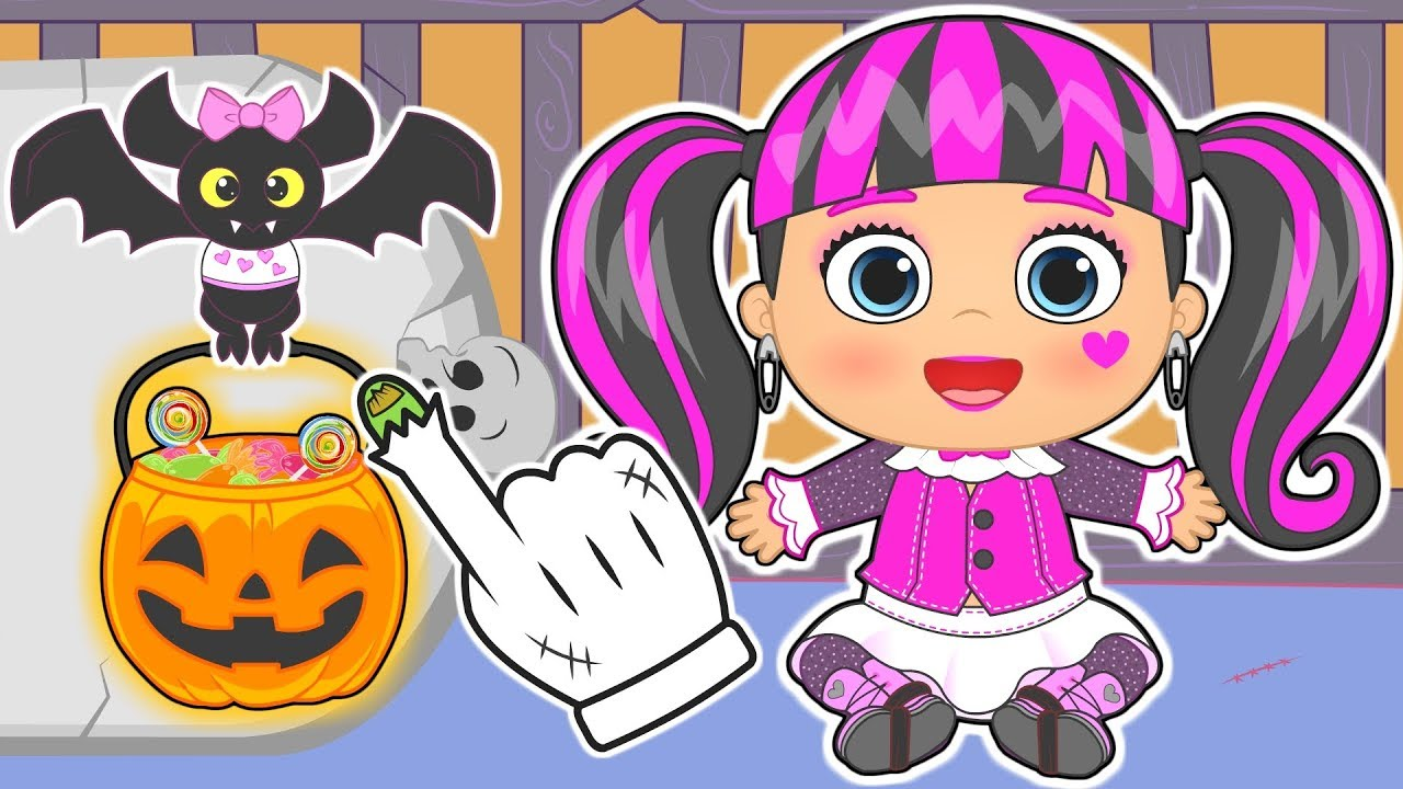 👶 BEBÉS de MONSTER HIGH 👶 Especial Halloween | Gameplay con ...