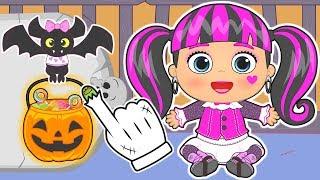 👶 BEBÉS de MONSTER HIGH 👶 Especial Halloween | Gameplay con Draculaura | Dibujos animados para niños