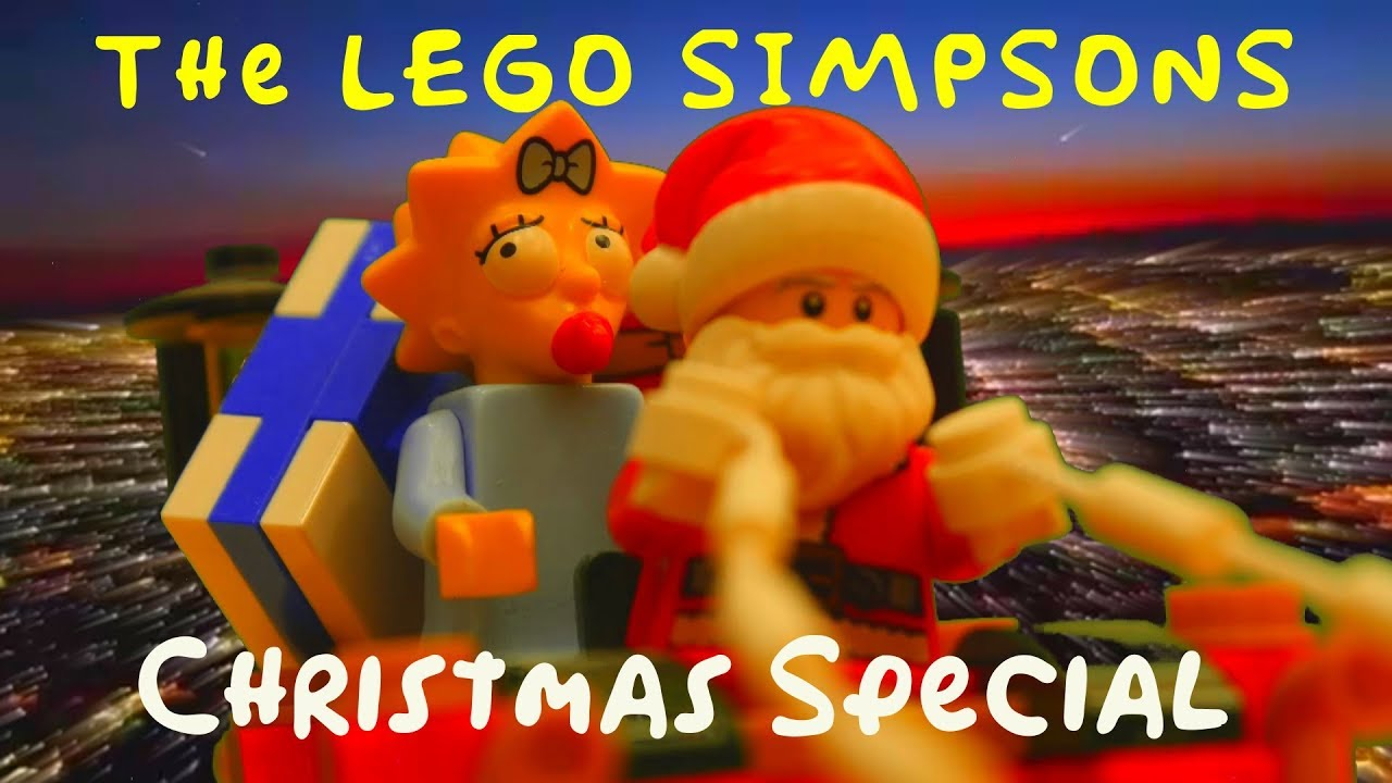 Download The LEGO Simpsons Christmas Special - Santa's workshop dream