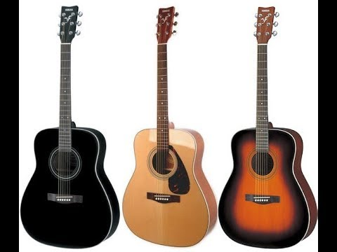 yamaha f370 acoustic guitar by unboxing house youtube. Black Bedroom Furniture Sets. Home Design Ideas