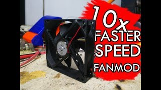 Make your PC Fan RUN 10X FASTER!!