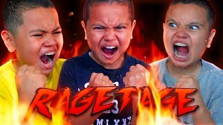 MY 10 YEAR OLD BROTHER'S ULTIMATE RAGETAGE! 😡(FUNNY!) FORTNITE FUNNY MOMENTS 😂 RAGING LITTLE KID