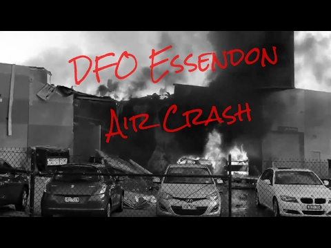 DFO Essendon Air Crash (Melbourne)
