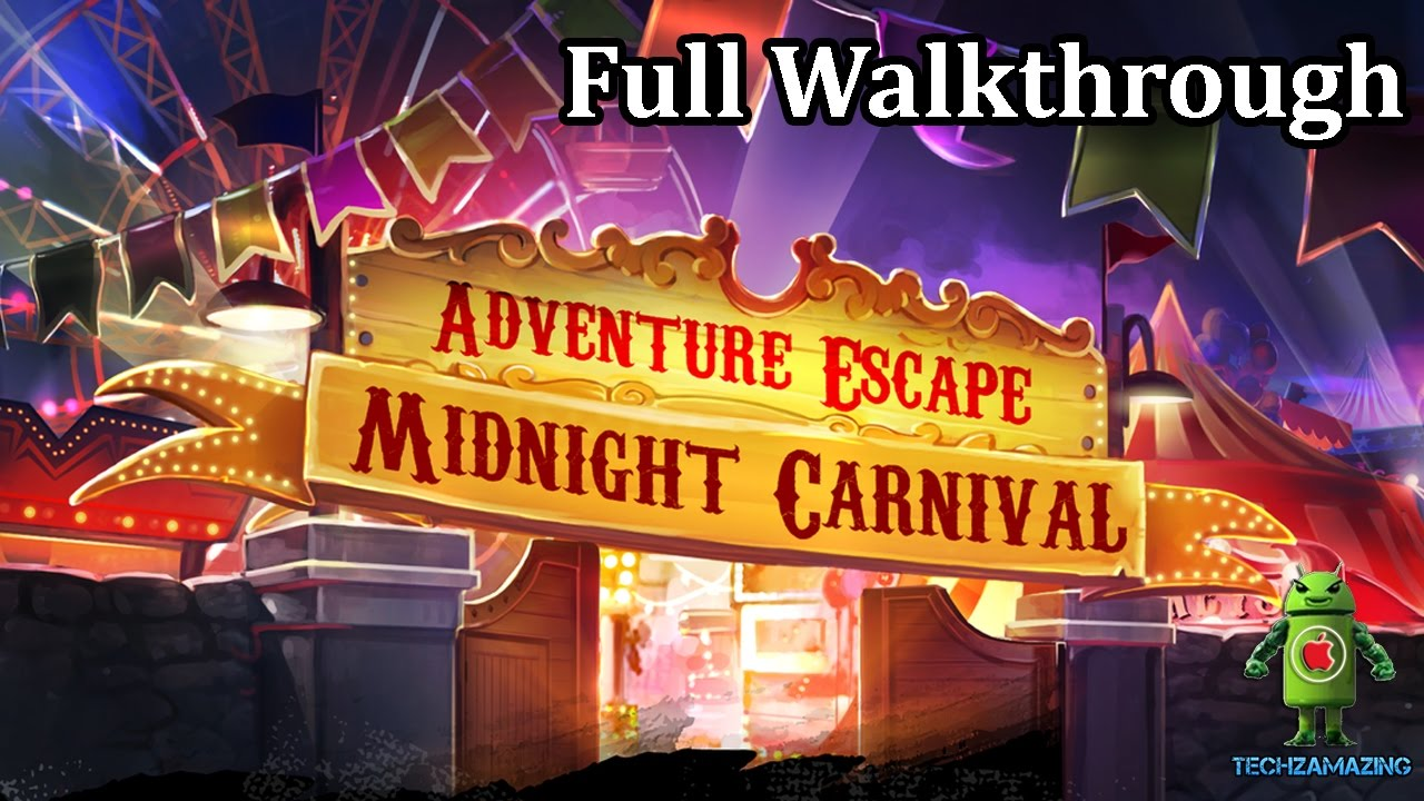 adventure escape midnight carnival full walkthrough gameplay youtube