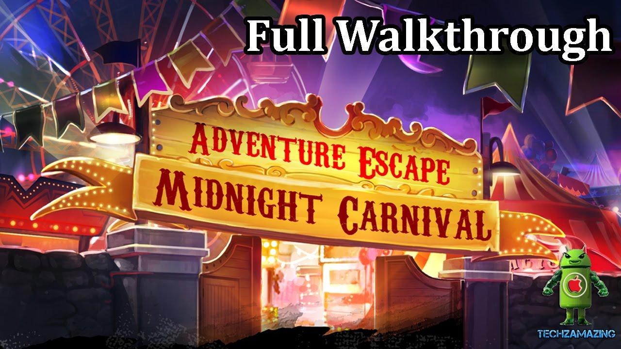 Adventure Escape Carnival Lösung