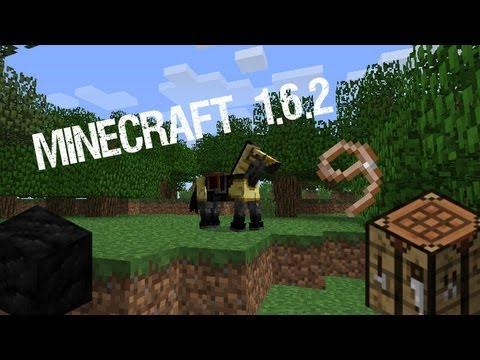 Minecraft 1.6.2-Jak ujeżdżać konia, zrobić nowe itemy i bloki-crafting i zmiany!