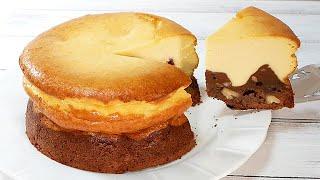 ブラウニー&ベイクドチーズケーキBrownies and baked cheese cake
