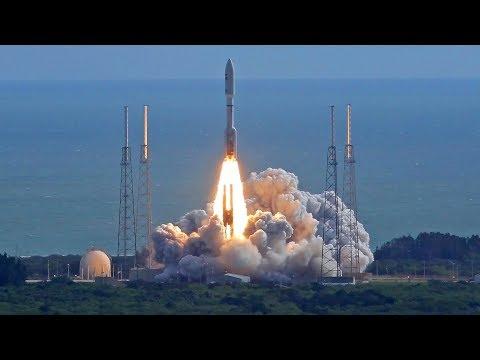 Scrub 2 - ULA Atlas V 421 AV-075 Launching NROL-52 Reconnaisance Satellite - Live Mirror