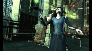 Harry potter and deathly hallows part 2  Molly Weasley  vs. Bellatrix gameplay 1080p !! PC