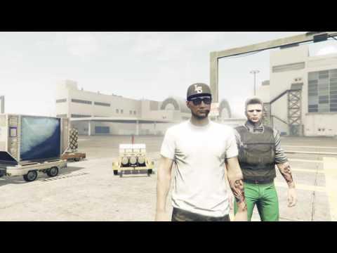Jugando a GTA V online correr o morir.