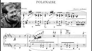 F. Chopin: Polonaise in G Sharp Minor, Op. posth - Garrick Ohlsson.