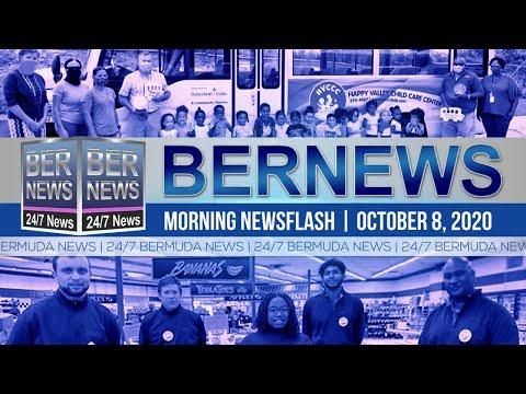 Bermuda Newsflash For Thursday, Oct 8, 2020