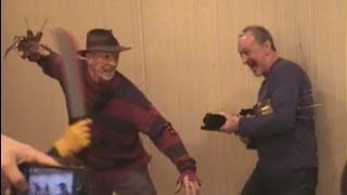 ロバート・イングランド氏がジェイソンとガチンコ対決! ROBERT ENGLUND in JAPAN