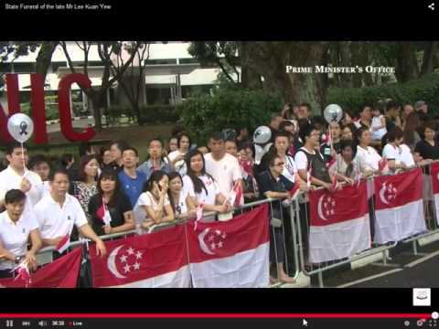 Lee Kuan Yew State Funeral