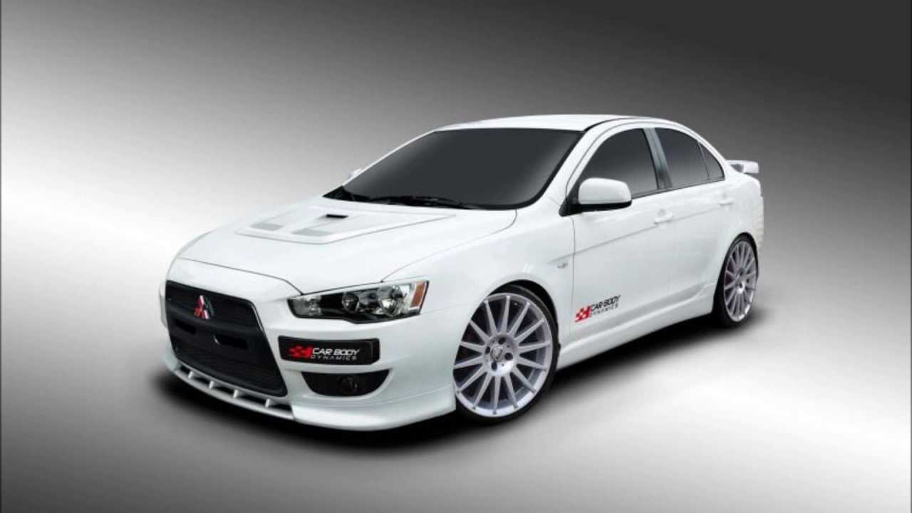 mitsubishi lancer tuning body kit youtube. Black Bedroom Furniture Sets. Home Design Ideas