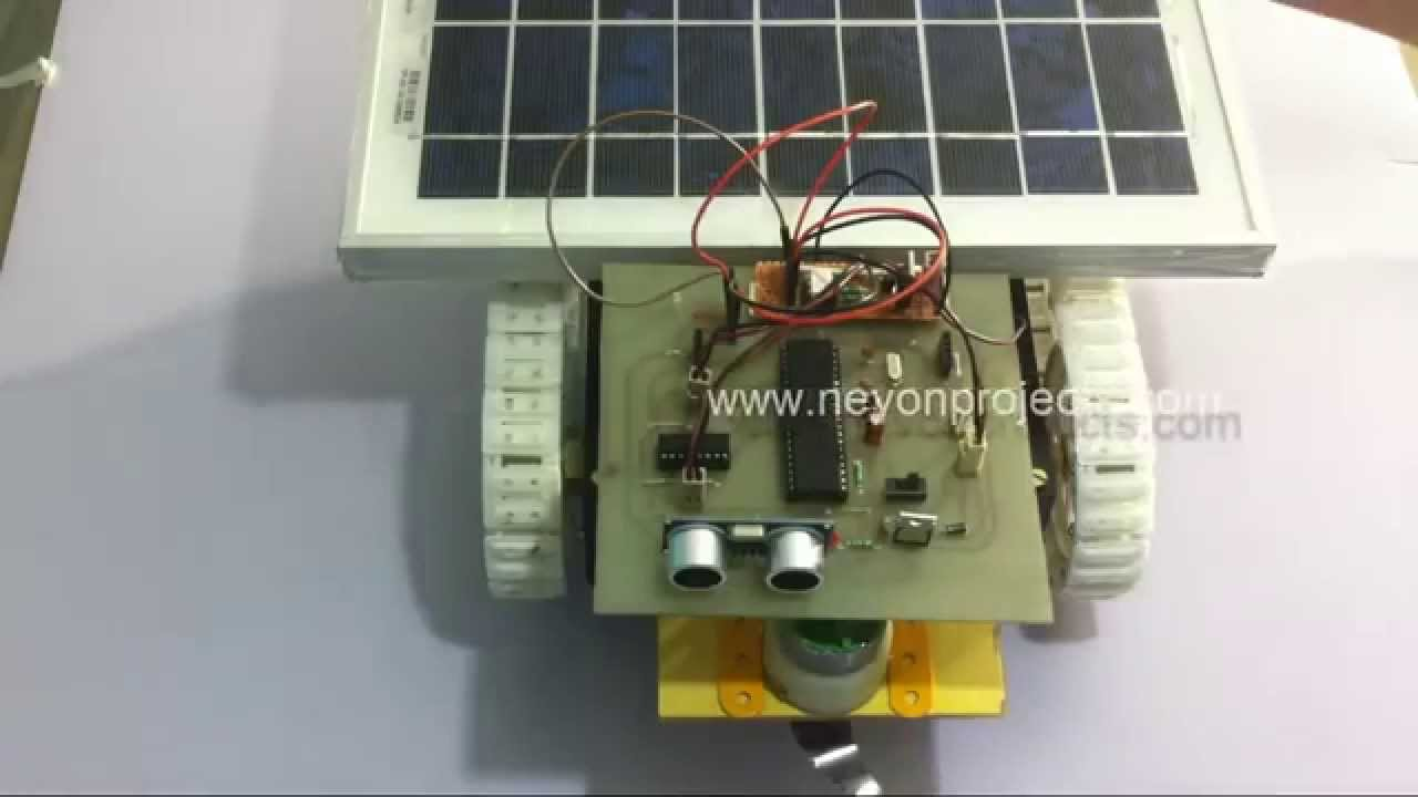 Fully Automated Solar Grass Cutter Youtube Tracking System Using Microcontroller Based Projects Nevon