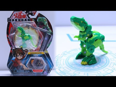 Bakugan Battle Planet | VENTUS ULTRA TROX UNBOXING