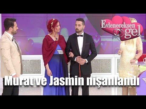 Evleneceksen Gel - Murat Ve Jasmin Nişanlandı