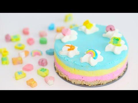 Mini Lucky Charms Cheesecake (GELATIN-FREE)   RECIPE