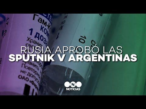 El INSTITUTO GAMALEYA APROBÓ las SPUTNIK V producidas en ARGENTINA