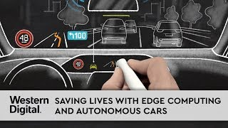 Saving Lives with Edge Computing and Autonomous Cars
