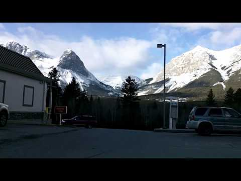 Trans Canada 1: Canmore, Banff, Lake Louise Time Lapse Drive
