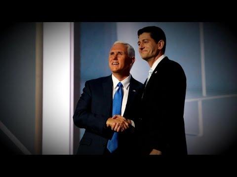 Mike Pence Breaks With Trump, Endorses Paul Ryan