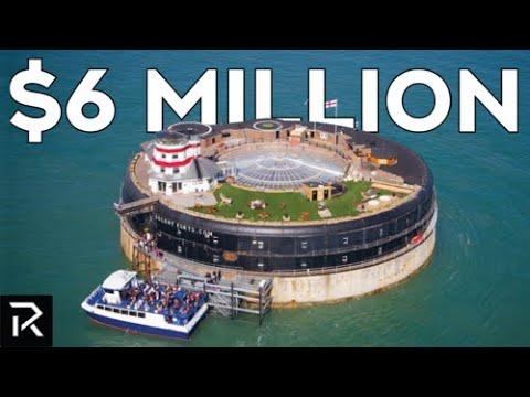Touring A $6 Million Dollar Floating Hotel Island