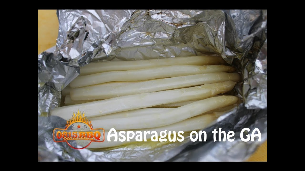 How To Make Asparagus On The Weber Go Anywhere  English Grill And Bbq Recipe  0815bbq