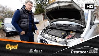 Осмотр Opel Zafira - в хлам