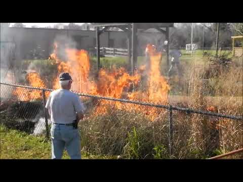 Prescribed Burn at UHCL Environmental Institute of Houston
