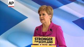 Scotland leader Sturgeon promises new independence vote