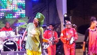 Bootsy Collins LEAF Downtown  Asheville  2015