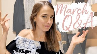 March Q&A | Travelling, Ship Life, Wedding & More!