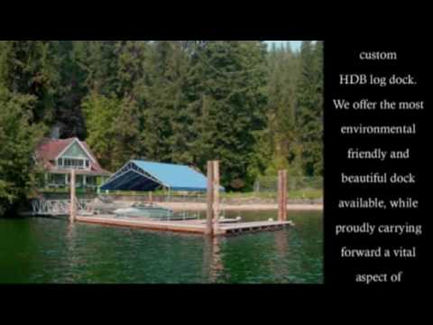 Cedar Log Docks by HDB Marine