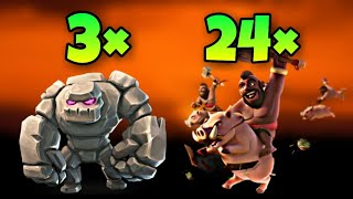 "TH9 ""Stoned GoHo"" War Attack Strategy 