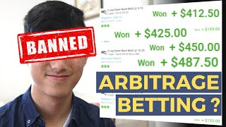 How I got baฑned from sports betting (Using Maths) | Arbitrage Betting Explained