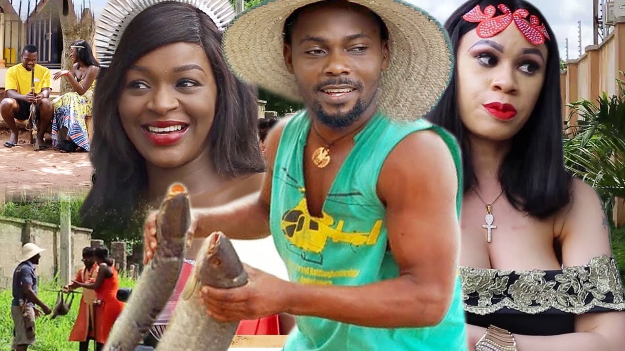 Download The 2 Princess & The Village Hunter Complete 5&6 - Chacha Eke 2019 Latest Nigerian Movie