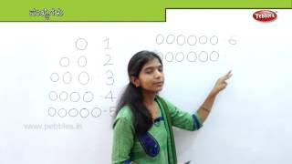 How to write Numbers in Kannada from 1 to  10 | Learn Math for Kids | Preschool Educational Video