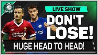 Liverpool vs Chelsea | Man Utd vs Brighton | PREMIER LEAGUE Preview