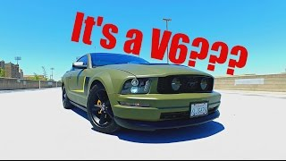 The Sickest V6 Mustang Ever!