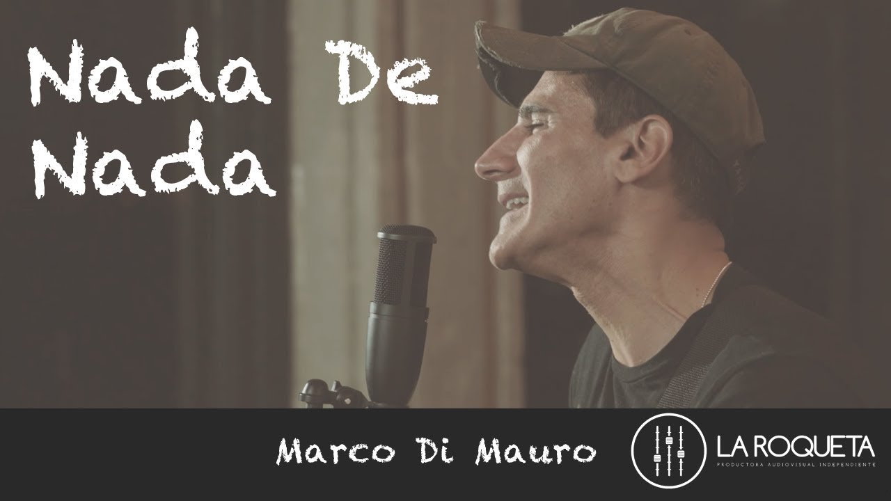 Marco Di Mauro Nada De Nada Cotorro Records Youtube