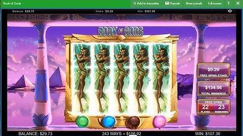 book of gods slot.William Hill Bonuses game slot 45 Free Spins