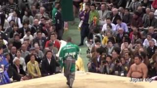 2017大相撲 大阪春場所5日目、白鵬がこの日から休場。御嶽海が不戦勝と...