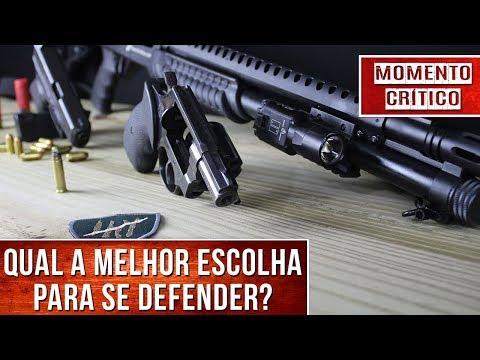 Top 3 armas para defesa residencial! - Momento Crítico Ep.10