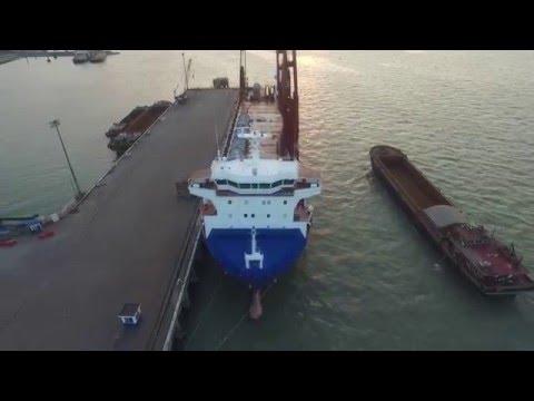 Loading heavy lift (1st video)