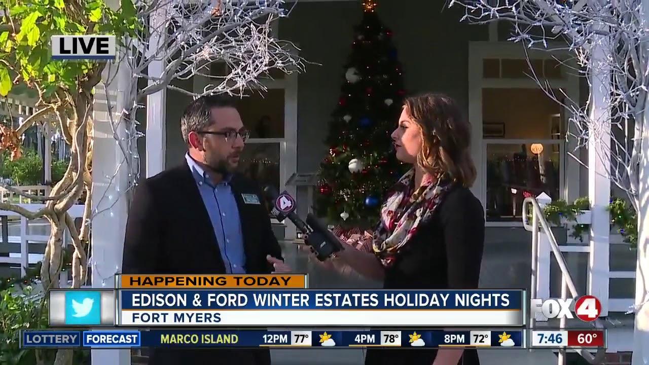 Edison Ford Winter Estates Christmas Lights 2020 Edison and Ford Winter Estates Holiday nights   YouTube
